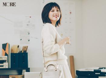 【今日のコーデ】<本田翼>「笑顔の日」にぴったり♡やさしい白のワントーンコーデで全方位モテな一日に