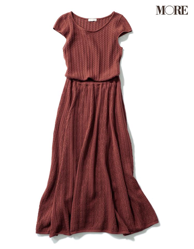 涼しげで、スタイルも良く見えて、最高だ!クロシェニットワンピをこの夏の勝負服に♡_3