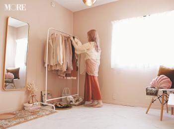 壁や床をDIY♡ 『楽天ROOM』『Francfranc』『イケア』などでインテリアや雑貨も厳選した、おしゃれなピンクの部屋作りに注目