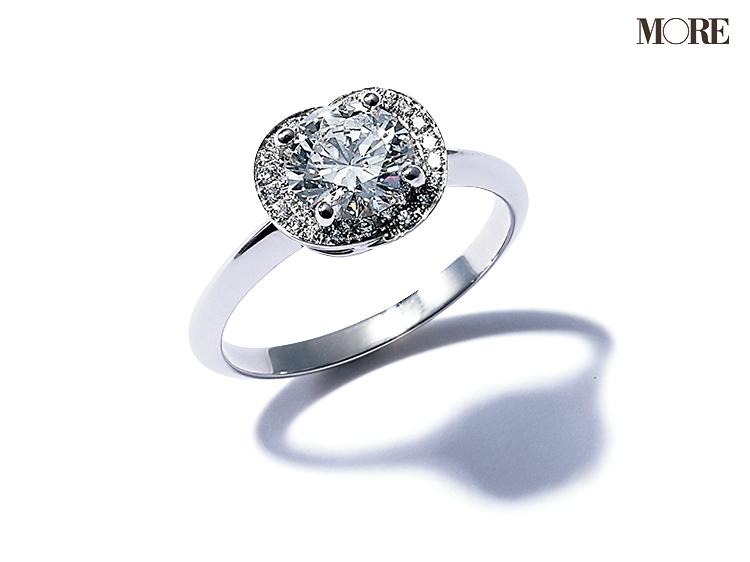 ブルガリのエンゲージメントリング ダイヤモンドリング
