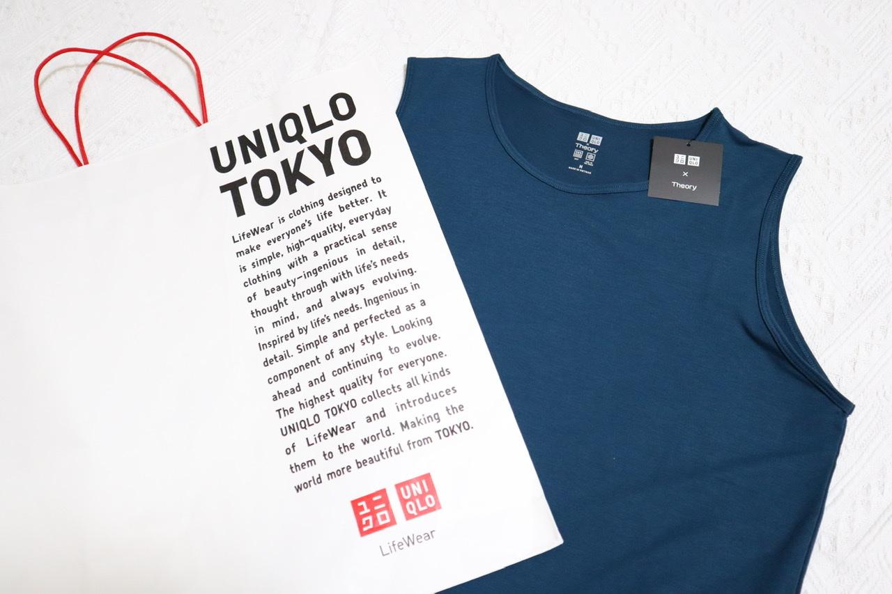 《5/14発売開始❤️》【UNIQLO × Theory】で絶対買うべき優秀エアリズムTシャツ☝︎❤︎!_1