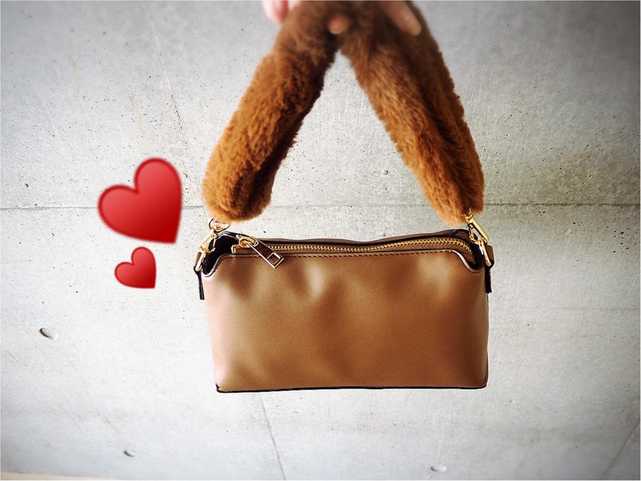 【秋はちょこっとファーを取り入れたいっ❤︎】2wayでとっても使えるバッグを見つけちゃいました❤︎_1