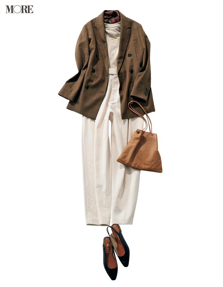 """本田翼が秋の""""週3アイテム""""で魅せます! 茶系のジャケットとワンピース、たとえばこんな着こなしで♡_2"""
