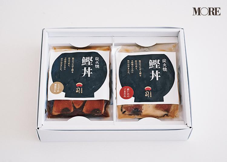 高知県のおすすめお取り寄せグルメ「土佐料理 司」の炭火焼 鰹丼セット