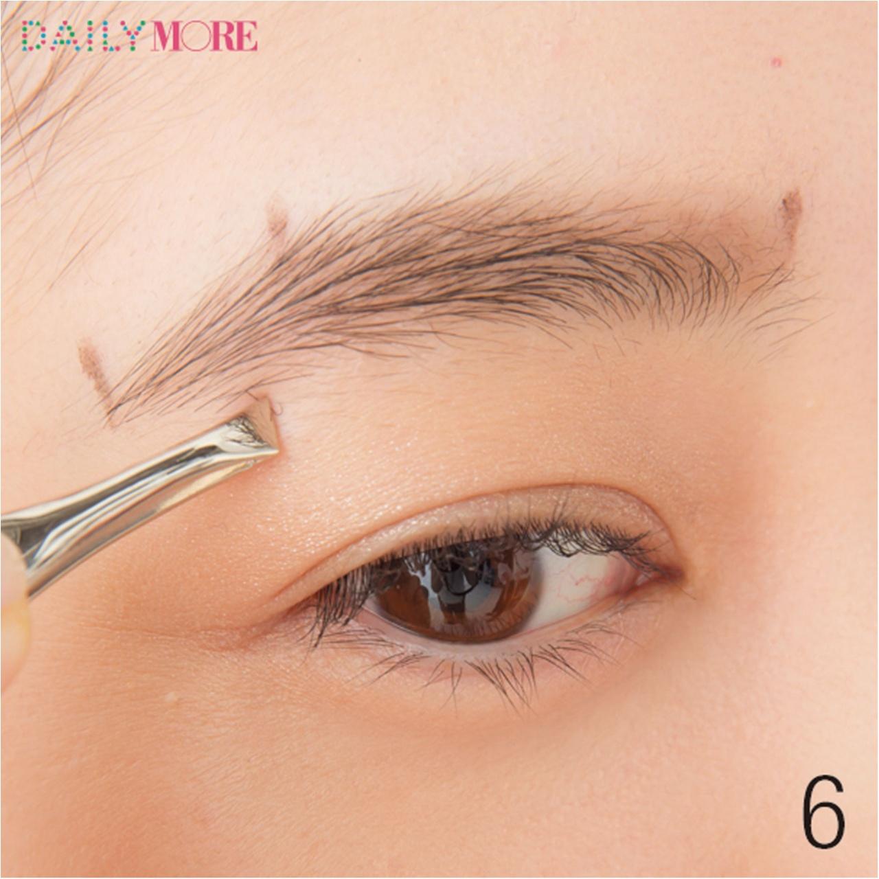 平行眉メイク特集 - 眉毛の形の整え方、描き方のポイントまとめ_8