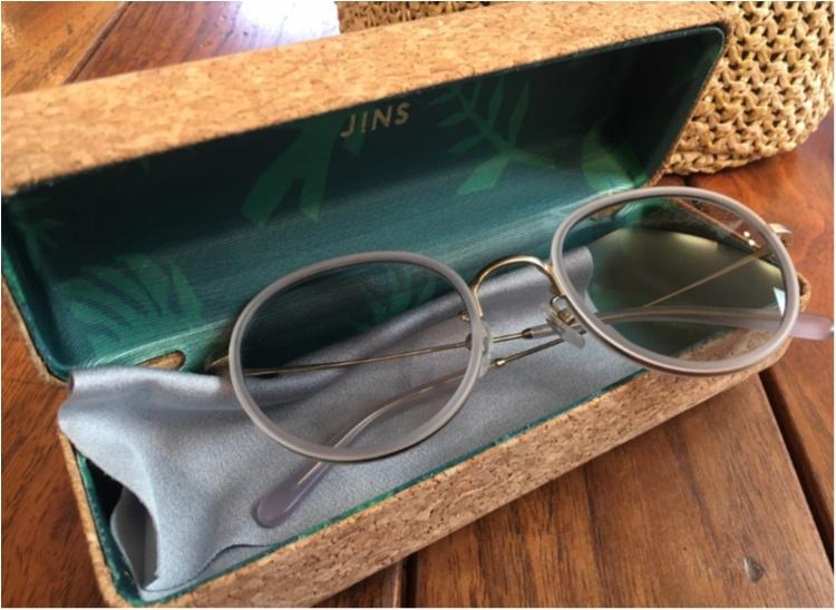 【JINS】プチプラサングラスはJINSでゲット!大人っぽグレーなら秋も使える♡_1