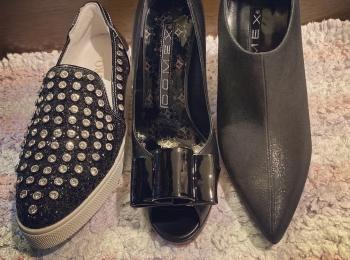 安室ちゃんのブーツでおなじみ♡「COMEX」のパンプス・ブーティ・スニーカーをゲットしました!