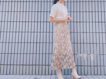 【dazzlin】スタイルアップで可愛い!秋のマーメイドスカート!