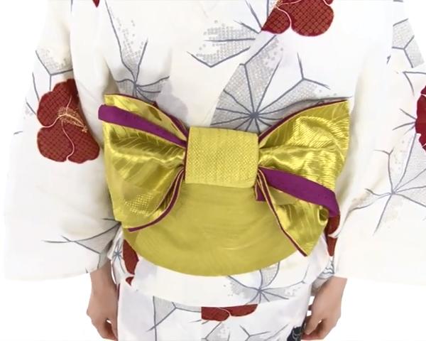 【わかりやすい動画付き】浴衣のセルフ着付け・帯の結び方 - 一人でできる! 女性の浴衣の着方は?_72