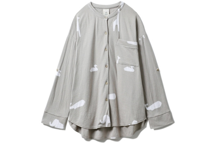 【かわいいルームウェア9】ジェラートピケのアニマルシャツ