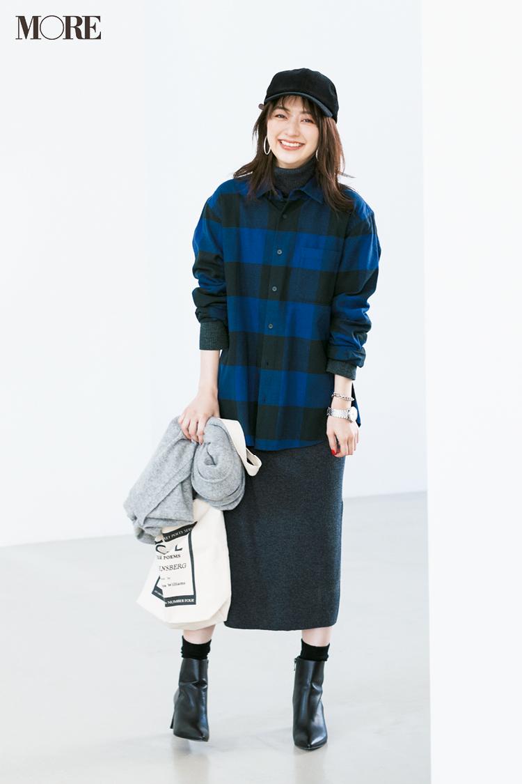 スカート、ニットにコートも! 冬のきれいめ【GUコーデ】まとめ | ファッション_1_9