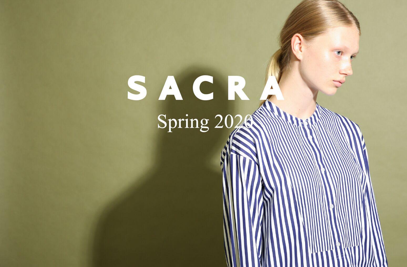 《Twitter フォロー&RTで応募》人気のレディースブランド『SACRA』のオリジナルロゴTシャツを2名様に♡_1