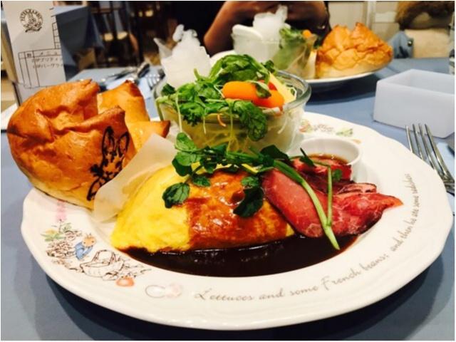 《絵本の世界でディナーを堪能★》イギリスのガーデンカフェで、ピーターラビットと一緒に食事が楽しめちゃいます♡♡_10