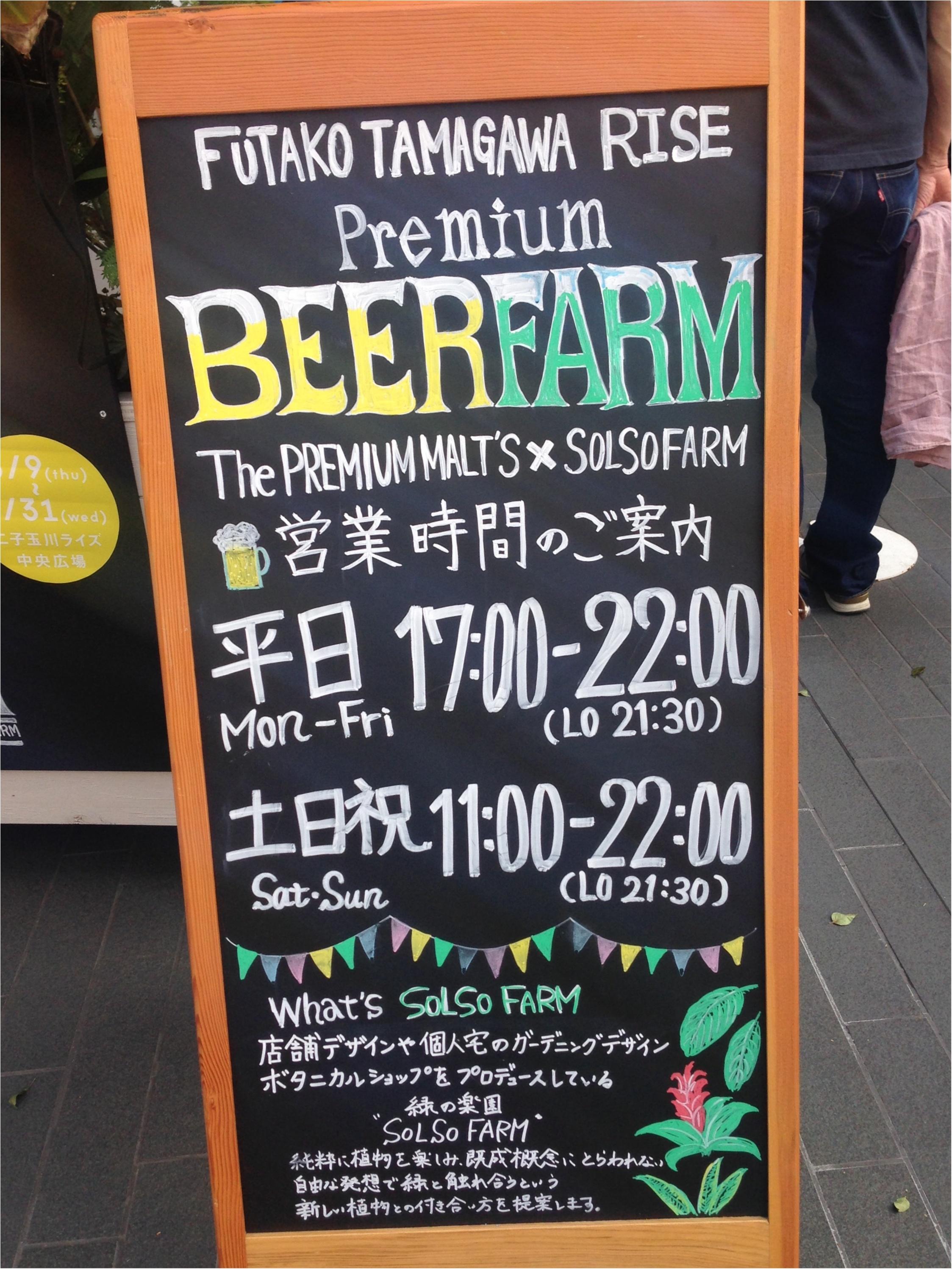 海外のような雰囲気♡芝生でくつろぎながらビールのもー\(^o^)/【二子玉川8月まで!】_5