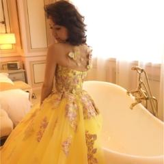 まるでお姫様♡『THE HANY』のウェディングドレスが可愛すぎる!