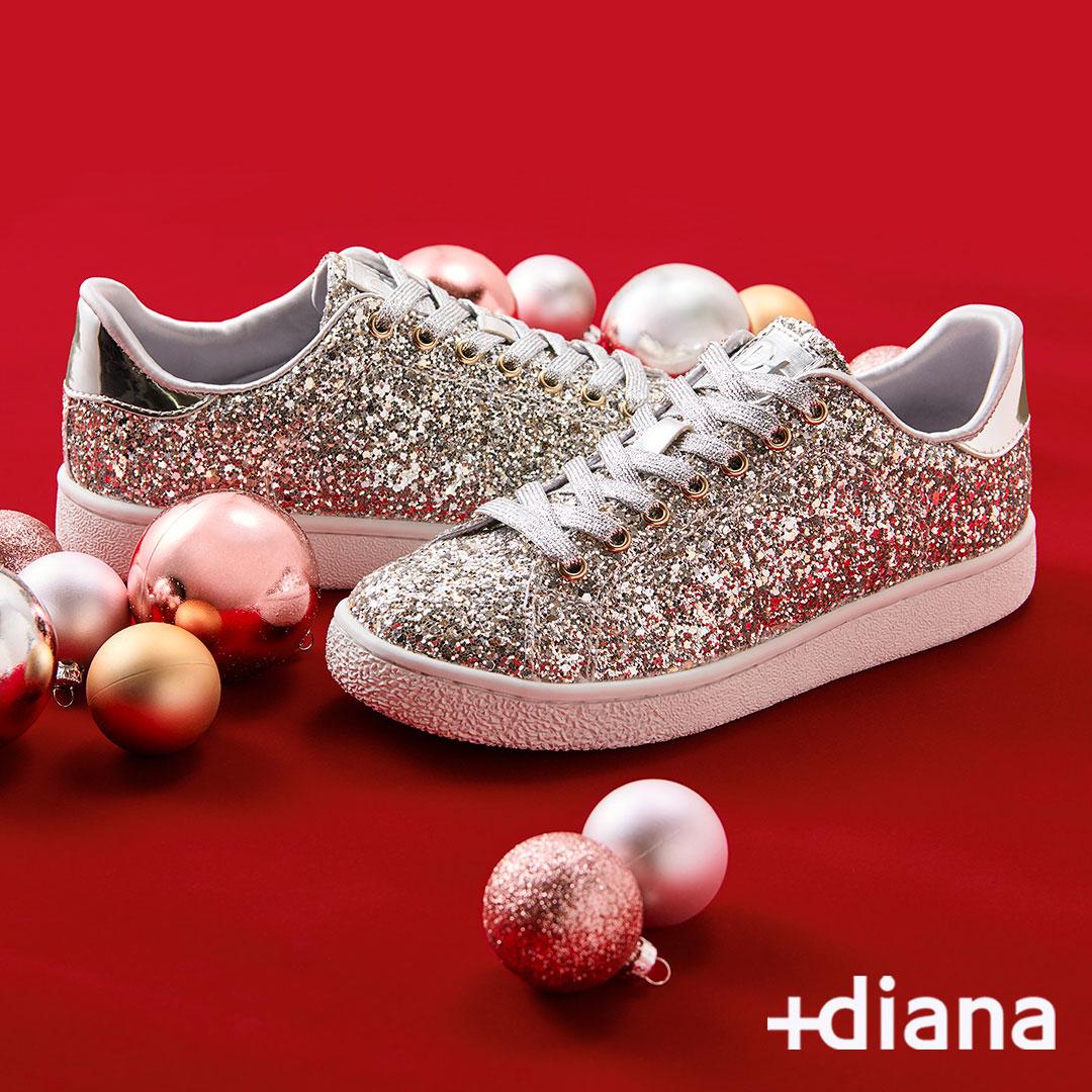 『ダイアナ』のスニーカーブランド『+diana』から、新型レザースニーカー登場! クリスマス限定も☆_2
