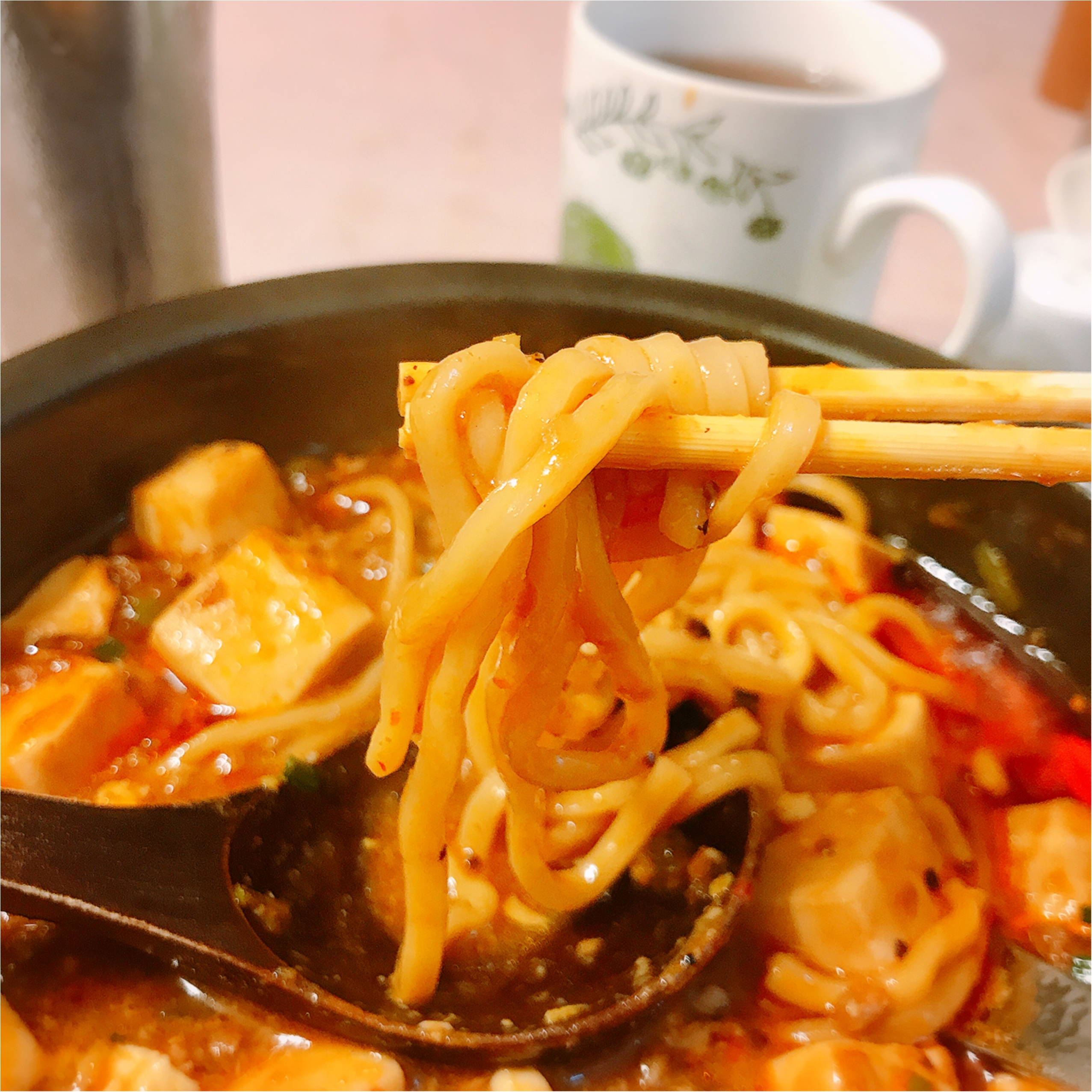 辛うま!!《源来酒家》の人気メニュー「麻婆麺」を食べてきました♡_4