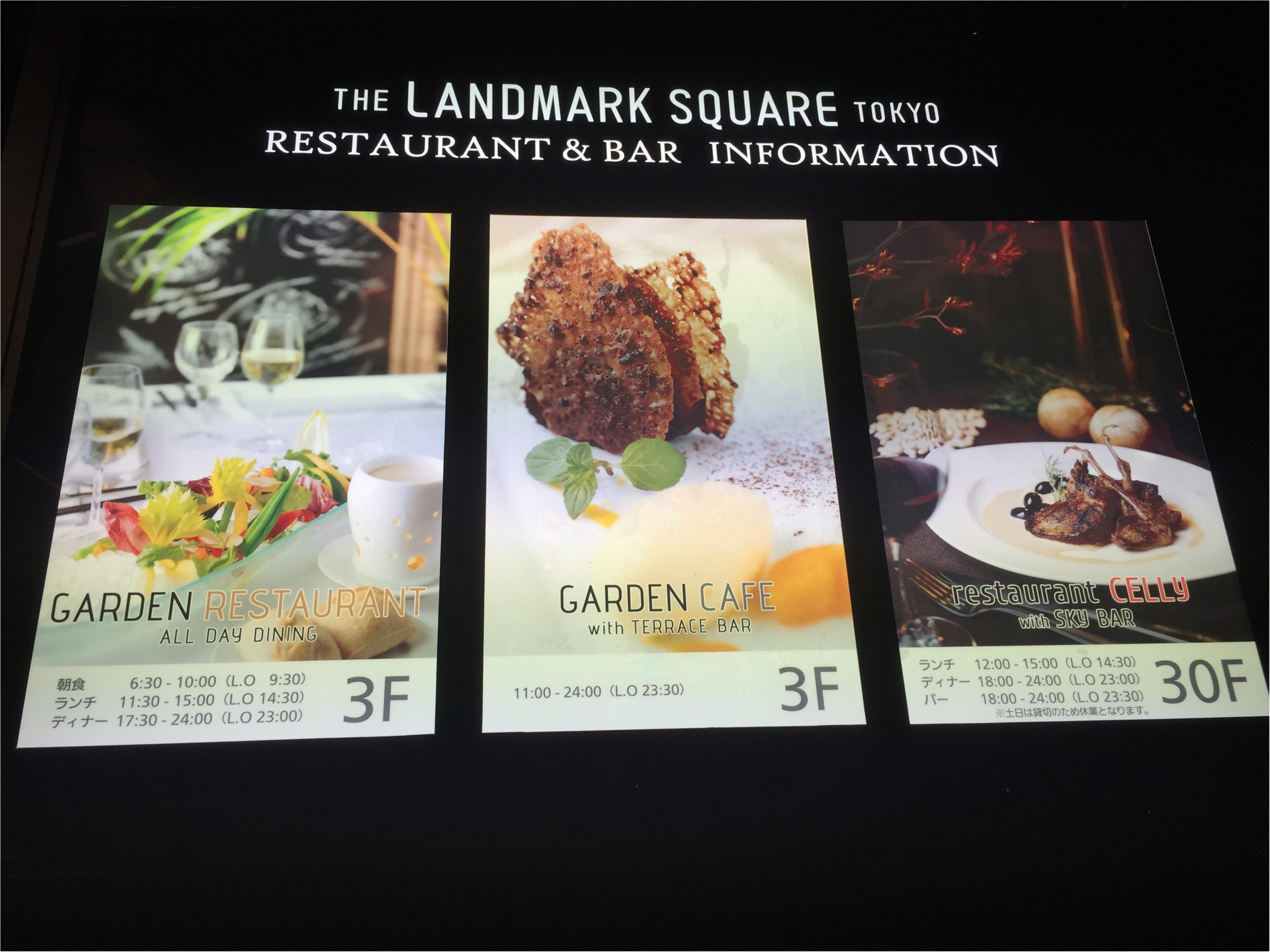 料理も最高♡1ランク上のビアガーデンで優雅なひとときを過ごすなら✨バースデーサプライズにもお薦め♪【THE LANDMARK SQUARE TOKYO】_3