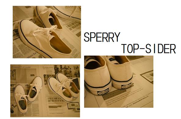 デッキシューズで有名な【Sperry Top-Sider (スペリー トップサイダー )】のキャンバススニーカーがお洒落!_1