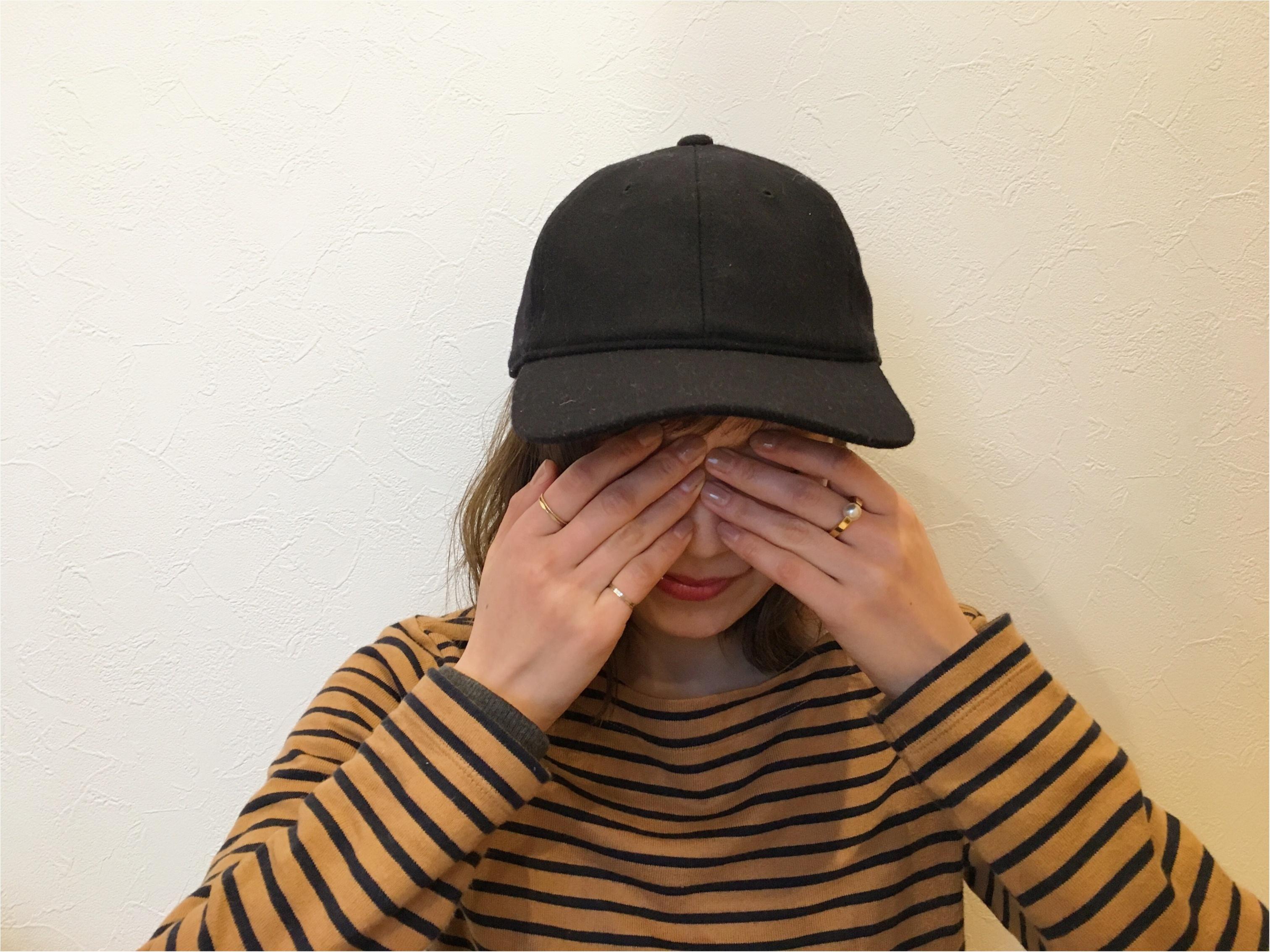 ★人気のウールキャップがなんと500円?!UNIQLOへ急げ〜!!_2