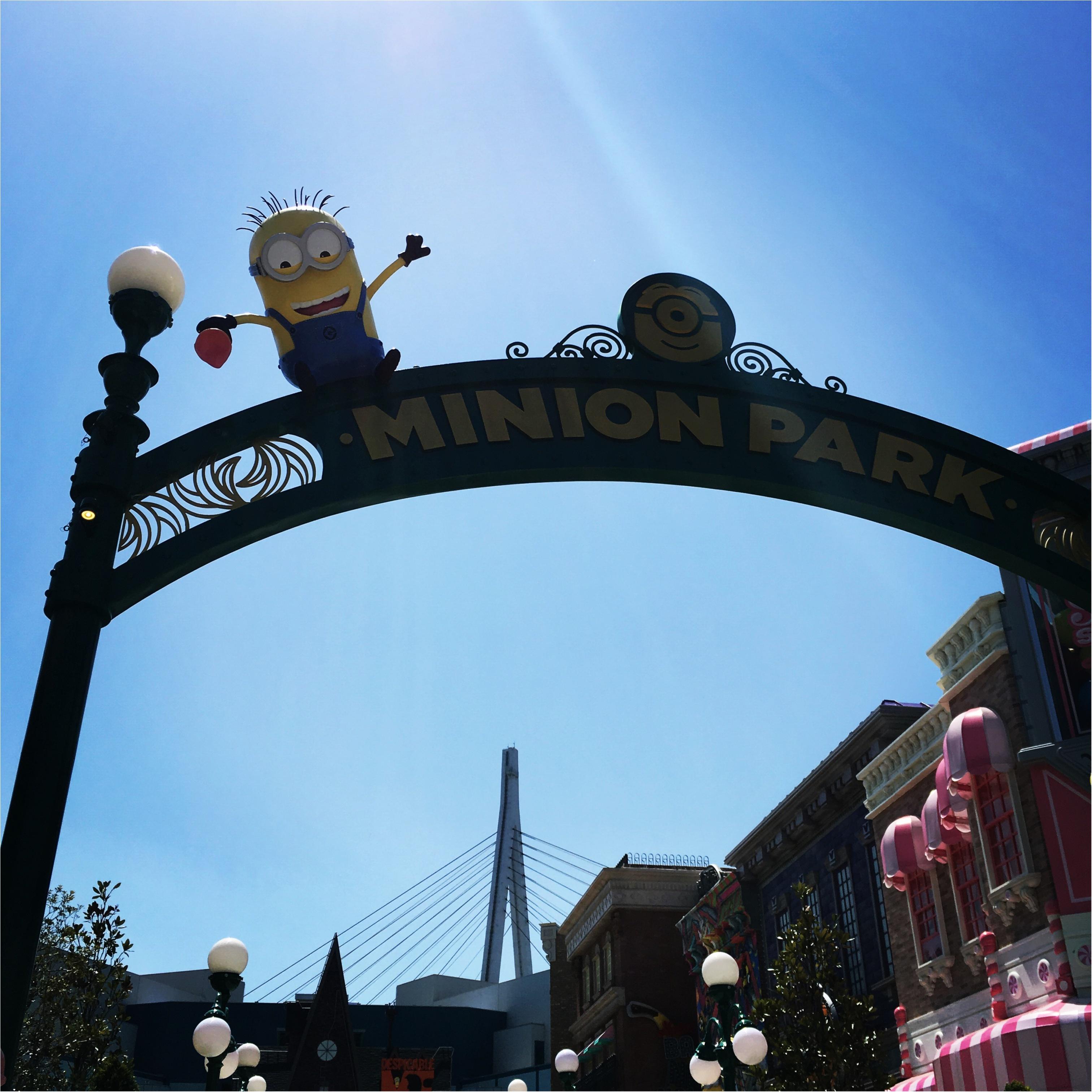 <4/21グランドオープン!>世界最大のハチャメチャエリア♡USJミニオン・パークに行ってきました!♡_1