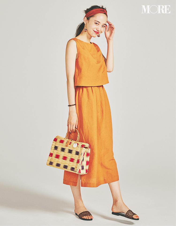 夏のワンピース、靴とバッグは何を合わせる? 20代女子におすすめの6コーデを厳選☆_6