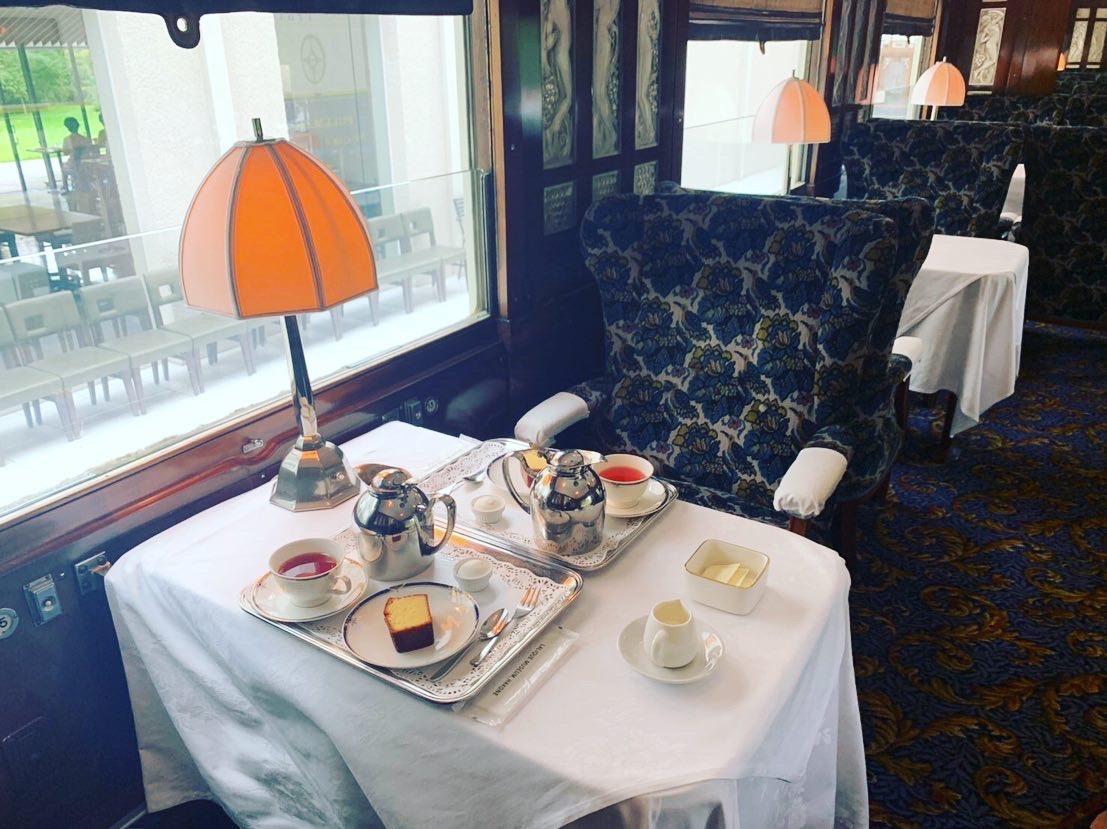 【貴族が利用していた世界で最も豪華な列車でお茶会!?】オリエント急行で優雅なティータイム_2