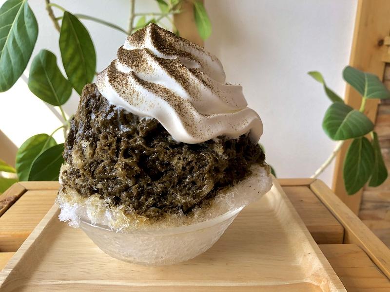 『茶氷プロジェクト』、静岡市『茶町 KINZABURO』の「いちご抹茶かき氷」