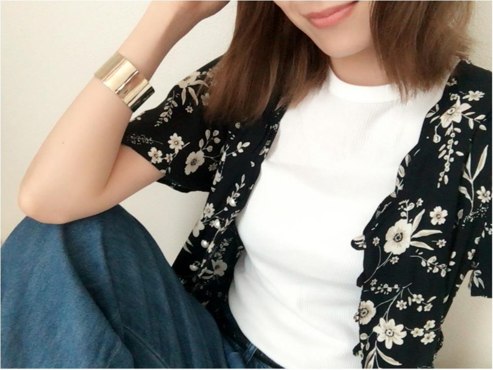 ★《白T×デニム+α》夏のファッション方程式♩♩_1