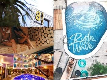 湘南・茅ヶ崎にプール・サウナ付きホテル『8HOTEL CHIGASAKI』が誕生! 海外リゾートのような空間にワクワク♡