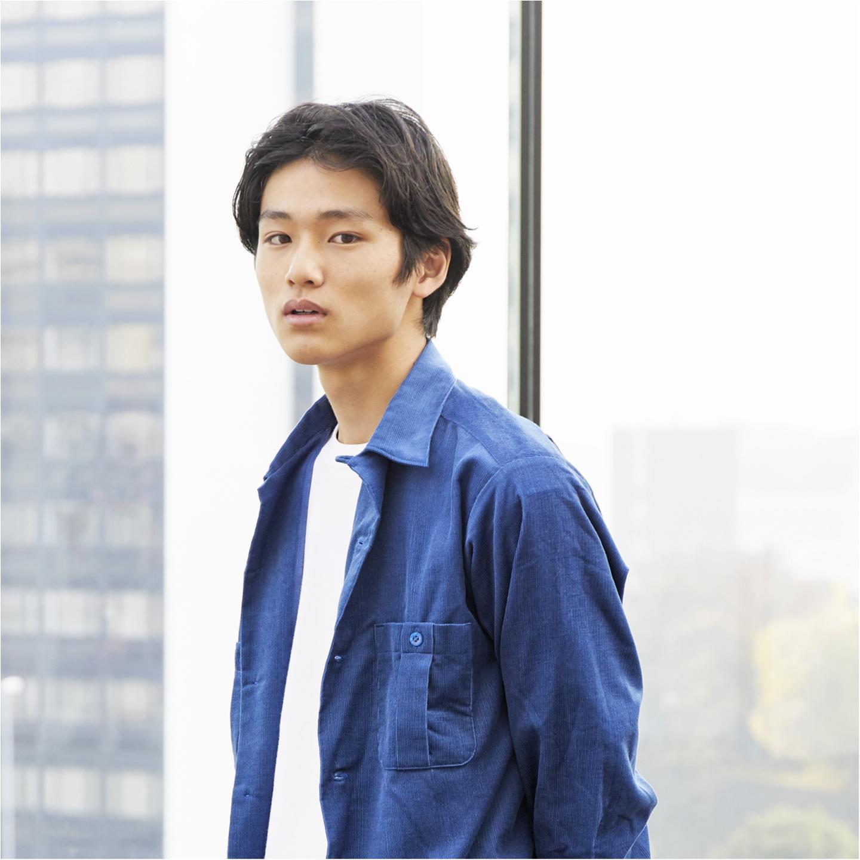 【新メンズノンノモデル・中川大輔さんインタビュー】「モデルとして個性を出していきたい。いつかモアにも登場させてください!」_1