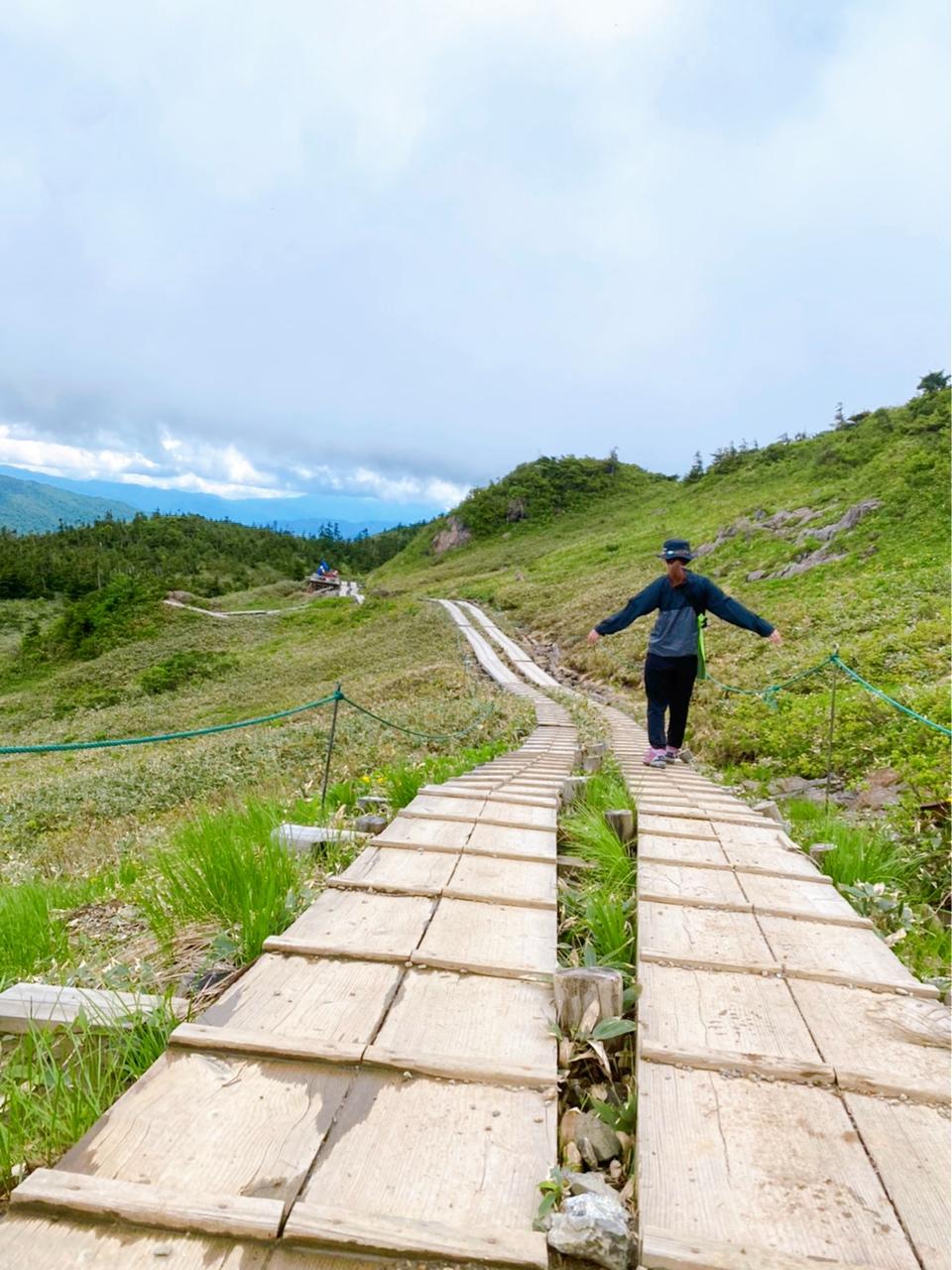 【ハイキング】尾瀬で自然を感じる山登り_4