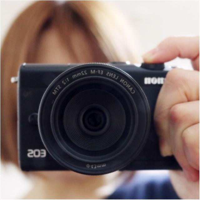 自分へのご褒美!CanonのEOS M100で念願の【カメラ女子】デビュー♡_1