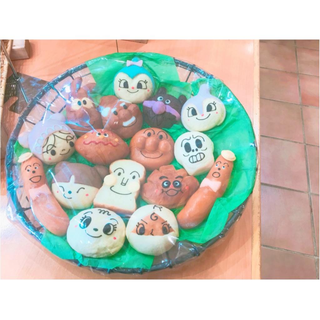 食べるのがもったいない!《 アンパンマンミュージアム 》で可愛すぎるキャラクターパンをゲット ♡_9