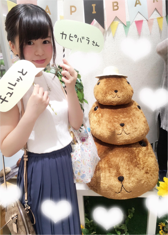 上下UNIQLOコーデ&こなれヘアーで…♡期間限定渋谷ヒカリエの『OTONAカピバラさん』ショップにgo(*´ ˘ `*)!_3