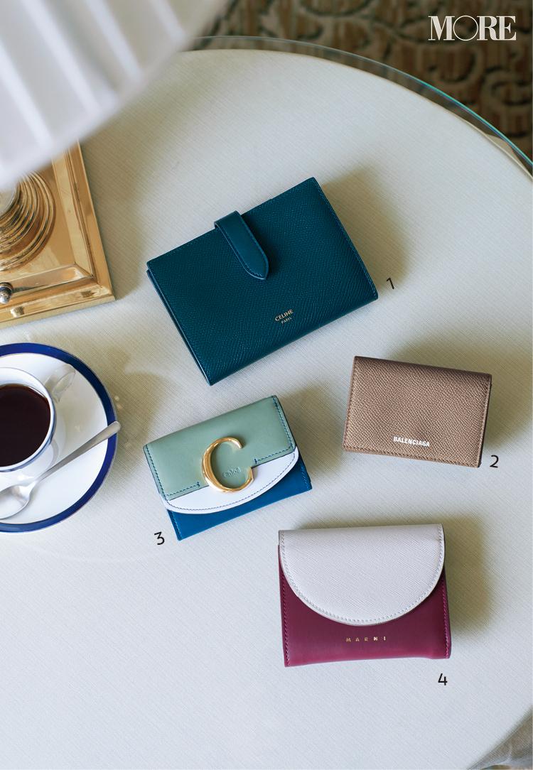セリーヌ、バレンシアガ、クロエ、マルニ。お財布を新しくするなら大好きブランドでっ♡_1