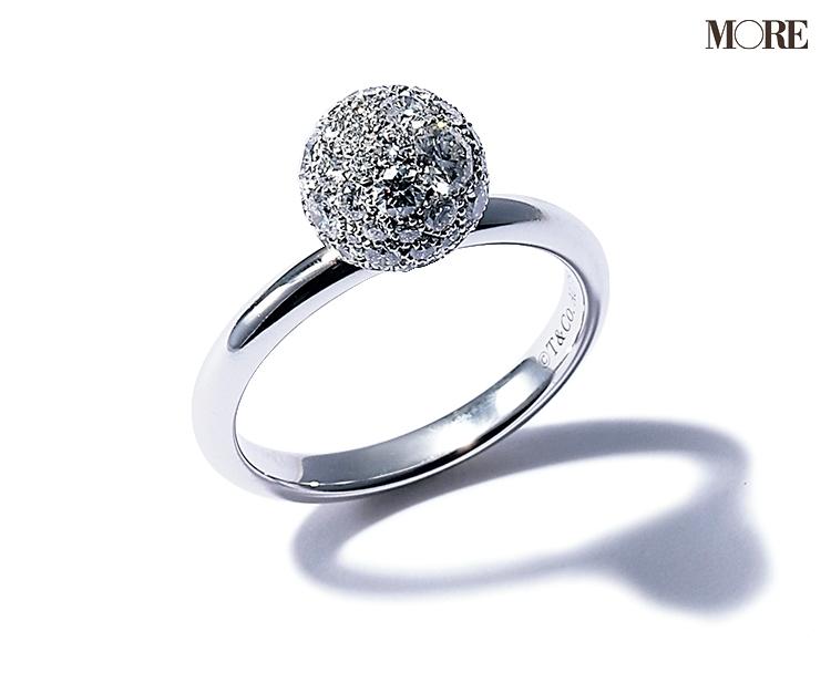 ティファニーのリング ダイヤモンドリング
