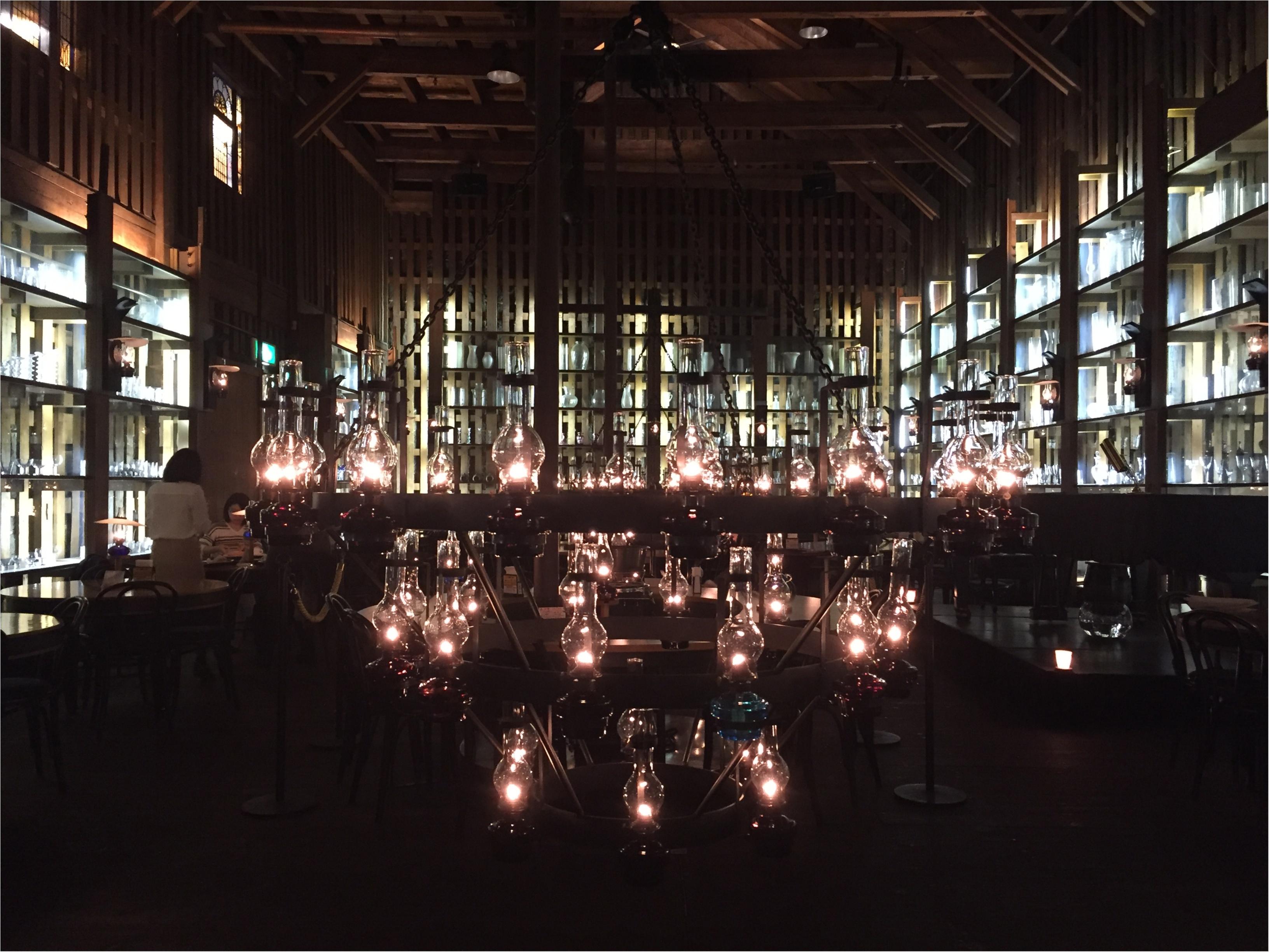 【小樽カフェ】石油ランプが灯る幻想的な世界へ!!_4