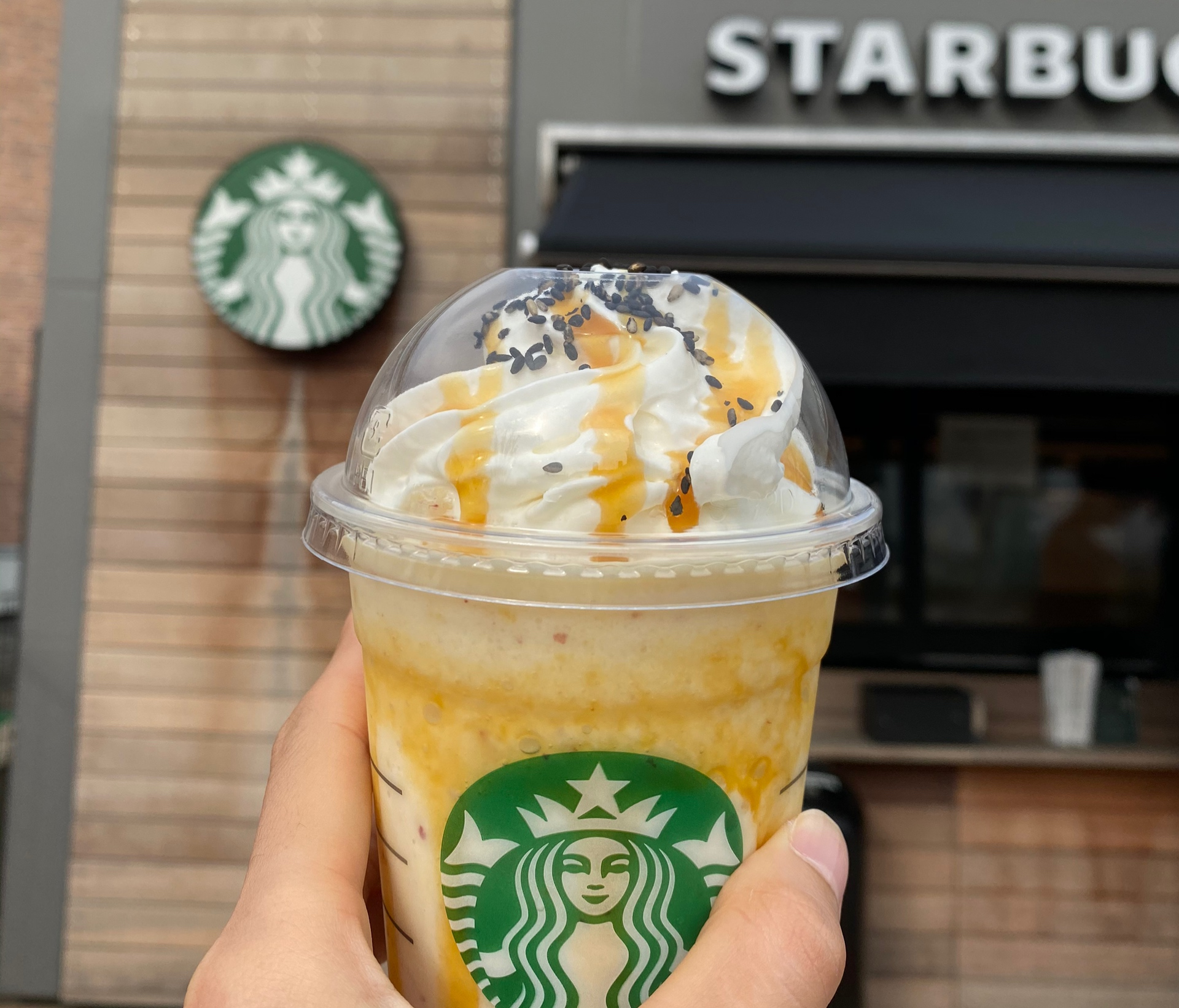 【STARBACKS】秋の新作!大学芋フラペチーノ飲んでみたレポ♡_1