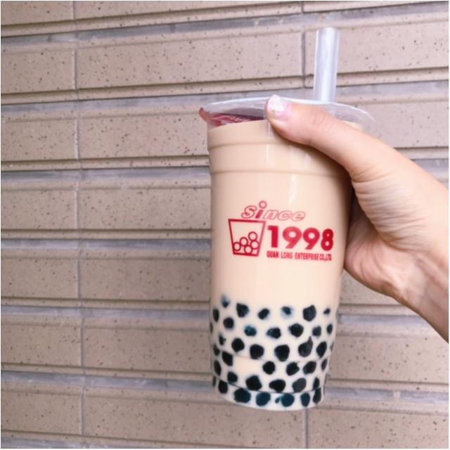 台湾でおすすめの「パールミルクティー」のお店4選♪_1