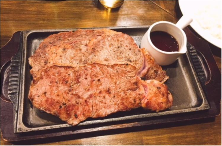 立食いステーキ【お腹ぽよぽよ♩気がすむまでひたすら肉】_1
