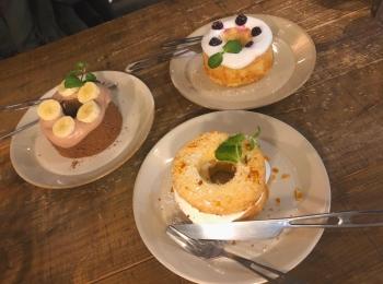 【神戸カフェ】かわいいふわふわシフォン!買い物がてらに立ち寄りたい♡