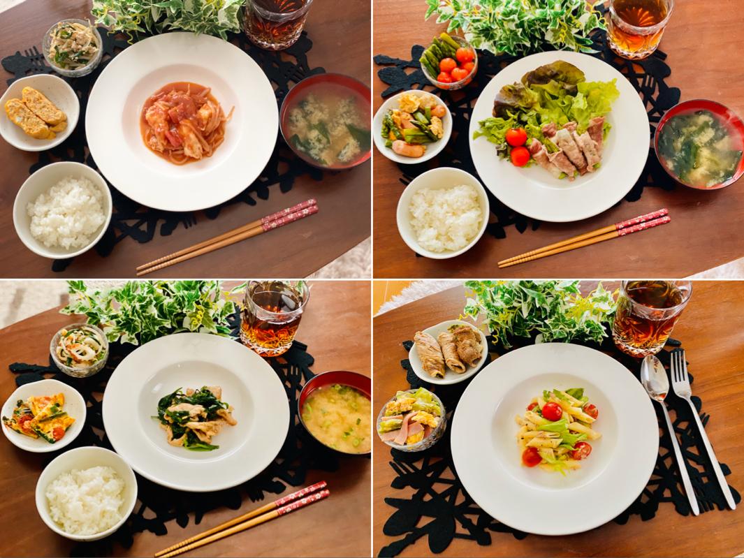 【今月のお家ごはん】アラサー女子の食卓!作り置きおかずでラク晩ご飯♡-Vol.15-_1