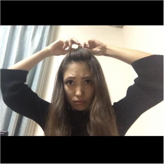 デコだし【ポンパドールの作り方】_6