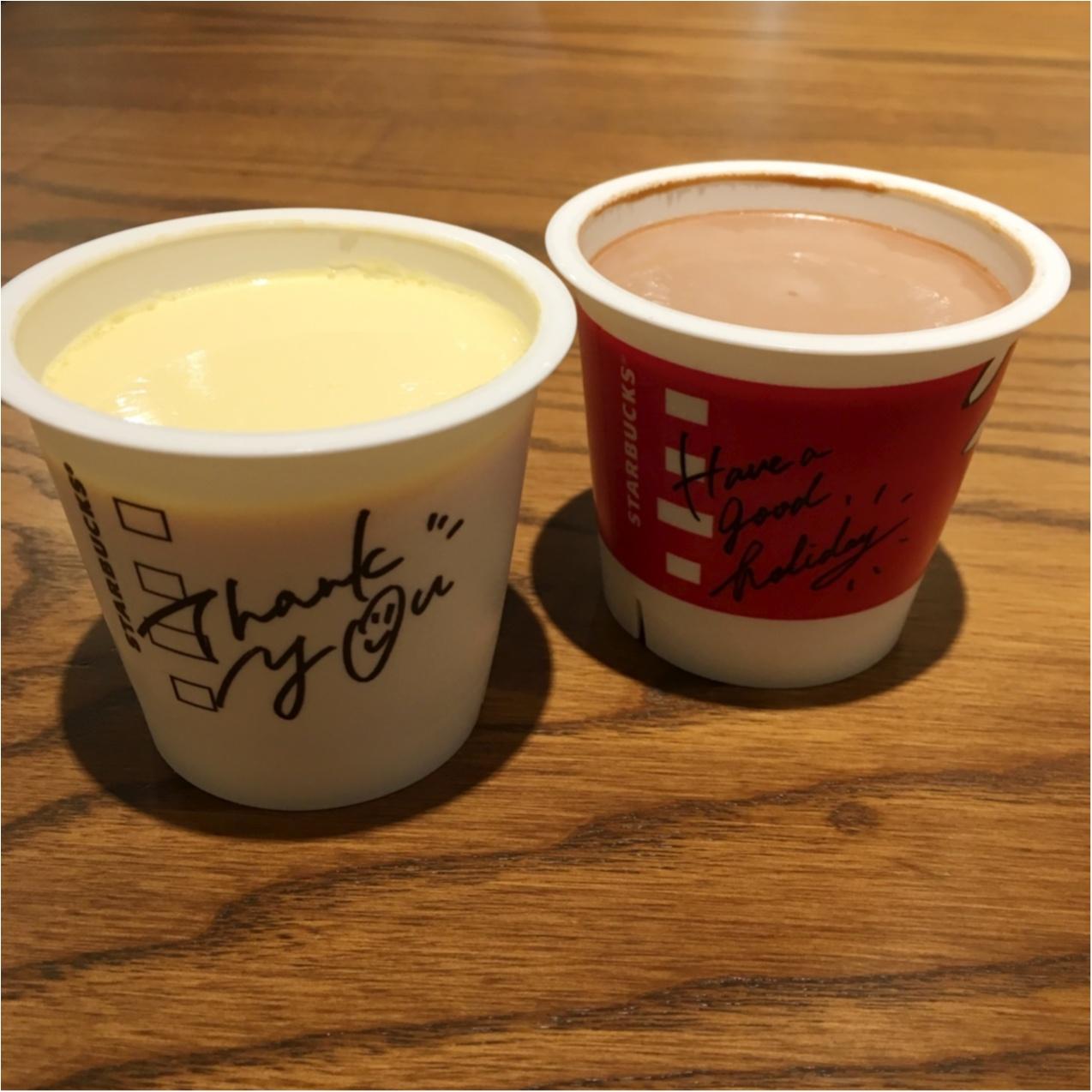 もう食べた?韓国で大人気のスターバックスのプリンが日本にやってきた♡_4
