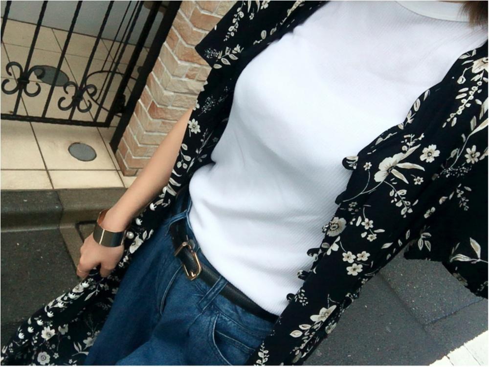 ★《白T×デニム+α》夏のファッション方程式♩♩_2
