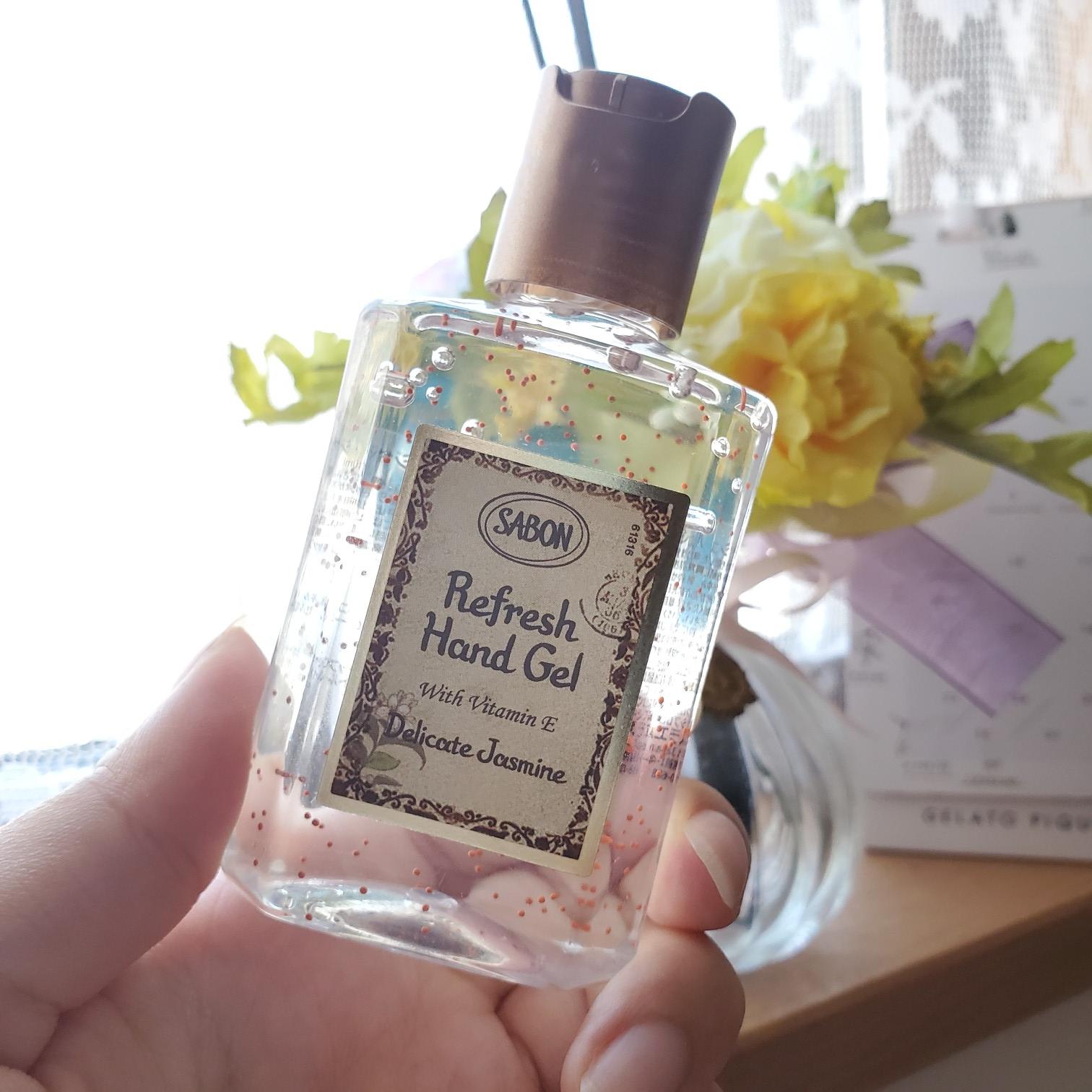 ハンドクリームの代わりに《ハンドジェル》消毒&香りに包まれる【SABON】_1
