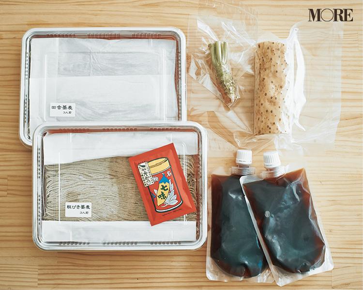 長野県のおすすめお取り寄せグルメ「水舎」の本格信州手打ちそばの中身