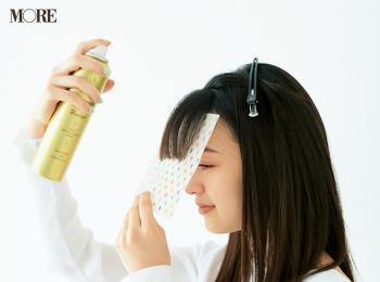 「固めてます」感ゼロの美前髪を一日中キープ。汗をかいてもくずれない、ヘア&メイクさんも愛用のヘアスプレーと使い方を伝授!