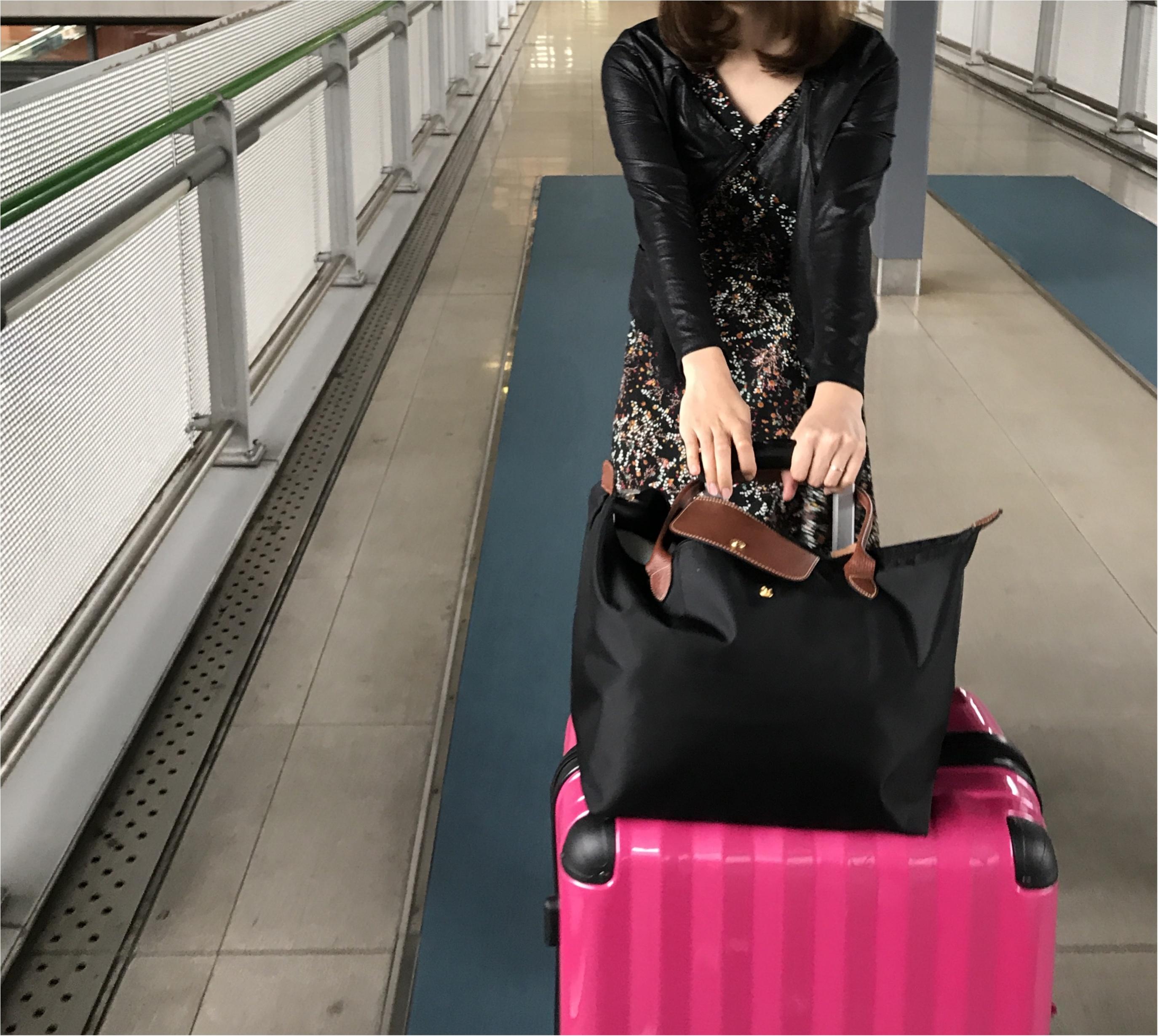 【travel】旅行におすすめのバッグやパッキング術、機内での服装など。役立つ情報をご紹介!_3